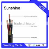 EPR / CPC neoprene Flexible Rubber Insulated Welding Cable with salt water resistance oil and UV proof                                                                         Quality Choice