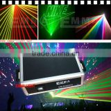 High Power Led Stage Light Outdoor Advertising Laser Projector 5w Full Color Laser Show System