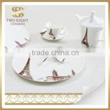 Wholesale cheap porcelain plate, chinese tableware, cheap bulk dinner plates
