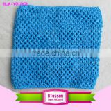 2015 Fashion turquoise Boutique Girls crochet tube top for TUTU DRESS