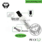 2015 OEM pyrex glass globe dual coil wax atomizer replacement coil ceramic heating element atomizer