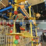 cheap gymnastics equipment, kids obstacle course equipment, roundabout rope course
