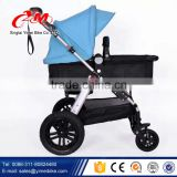Big air wheels baby stroller/baby doll stroller/2015 New Model Reversible Handle custom made baby stroller china