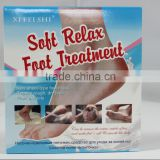 "OEM Exfoliating and Moisturizing peeling Foot Mask, Socks with ""Slik heels""+Cream"