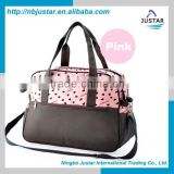 High Quality Baby Love Nappy Baby Bag Cute Multifunctional Baby Diaper Bag for Mommy