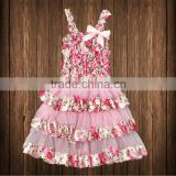girls dress baby kids lace skirts Princess birthday party dresses