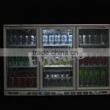 Single Door Back Bar Under Counter Display Beer Cooler/Beer Bottle Refrigerator