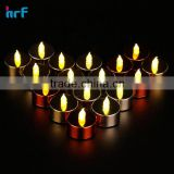 Stunning Flameless LED Tea Light Candles ; wedding/holidy /thanksgiving day tealight candles