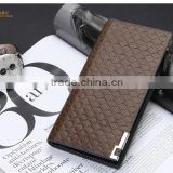 Man Wallet Leather Bifold Pocket ID Card Holder Cente Clutch Zipper Purse wallets for men