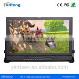 10bit color screen 17.3inch broadcasting full hd monitor with 3G Dual-link SDI ,Composite, Component, DVI Inputs
