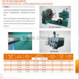 high speed horizontal rubber hose stainless wire braiding machine
