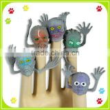 Promotion PVC Monster finger toys for Halloween