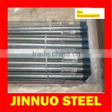 bs 1387 iso r65 Galvanized Steel Pipe threaded on both ends with caps and socket