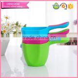 Baby accessories wholesale plastic water scoop for bath