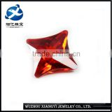 Fire CZ Cubc Zirconia Stones Market Prices Polished Best Machine Cut Synthetic Diamonds Prices of Garnet Gemstones