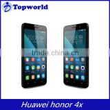 Original Huawei Honor 4X Android 4.4 Quad Core 5.5 IPS 4G LTE 5.0 MP 13.0 MP 2GB 8GB Dual Sim Card WCDMA Mobile Phone
