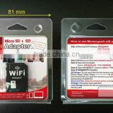 wifi memory card microSD to SD tf to SD adapter Memorypack