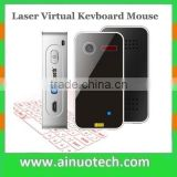2015 hot sell projection virtual wireless mouse and keyboard bluetooth laser keyboard for iphone and android phone