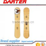 French style poplar wood core wild bird swallow snowboard