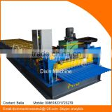 work flexible color ppgi ppgl roofing steel roof corrugated tile roll forming machinery for building roof tile material