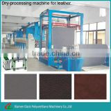 Durability solvent-free polyurethane synthetic leather production line/making machine