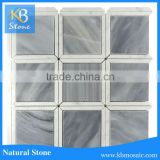 hot selling Italy gray mixed square marble china suppliers swimming pool tiles