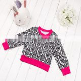 2016 kids autumn clothes korean autumn children clothing set long sleeve top and tutu dress