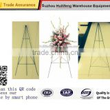 "green wire floral Display florist stands easel and flower rack 18"" 24"" 30"" 36"" 42"" 48"" 54"" 60"" 66"" 72"""