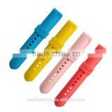 Cheap flexible nice silicone watch ribbon