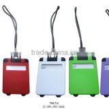 Luggage style Hard Plastic Luggage Tags