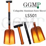 new design light weight portable china car auto atv telescopic collapsible aluminum snow shovel
