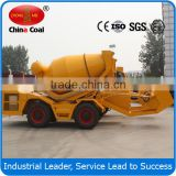 2.5 cbm slef loading Mobile Concrete Mixer Truck price