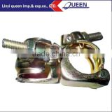 High Recycling Rate Ring Scaffold Fittings Quick Lock Fixed Double Coupler