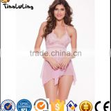 Wholesale sexy transparent nighty fantasy lingerie nightwear sexy babydoll dress lingerie manufactuer