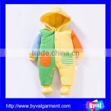 New Winter 100% Polyester Baby Rompers Infant Padded Coat