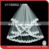V1150W2-1 Beautiful and Elegant Wedding Veils for Bridal