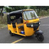 China Popular High Quality Long Seat 175CC Air Cooled Tuk Tuk Passenger Tricycle Bajaj Parts for Sale