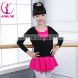 Wrap Knitted Ballet Crossover Leotard Coat Ballet Dance Sweater