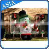 Inflatable Snowman Decorations for Christmas