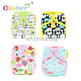 Elinfant Adjustable Nappy Covers Ruffle Diaper Cover Baby Bloomer Diapers Newborn Baby Diaper Covers