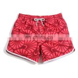 2015 custom print Colorful 4-Way Stretch ladies beach hot shorts Women's fashion surfing boardshorts