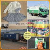 used clothing baled clothing