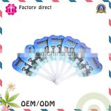 folding up summer advertising gift promotional manual hand fan