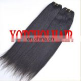 Top Quality, Hot Sale Yaki Human Hair Virgin Brazilian Yaki Straight Hair Weaving