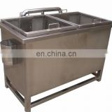 Good Feedback High Speed 500kg/h Industrial Automatic Fruit Washer Dryer Vegetable Washing Machine