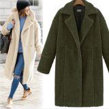 Collar Button Jacket Coats Hooded Coat