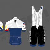 Yellow Custom Cycling Clothing Clothing Set Color Combination Cycling Clothes