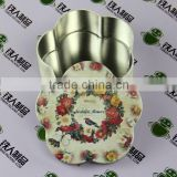 Metal packing candle tin