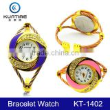 fancy rope bracelet wrist watches ladies gold bangle watch hot china products wholesale