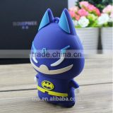 Heros batman 5200mah usb power bank with cable